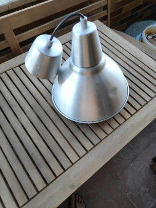 2 lamparas de ikea metal x 2
