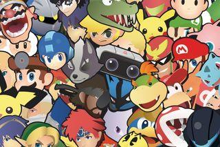 Pegatinas Super Smash Bros