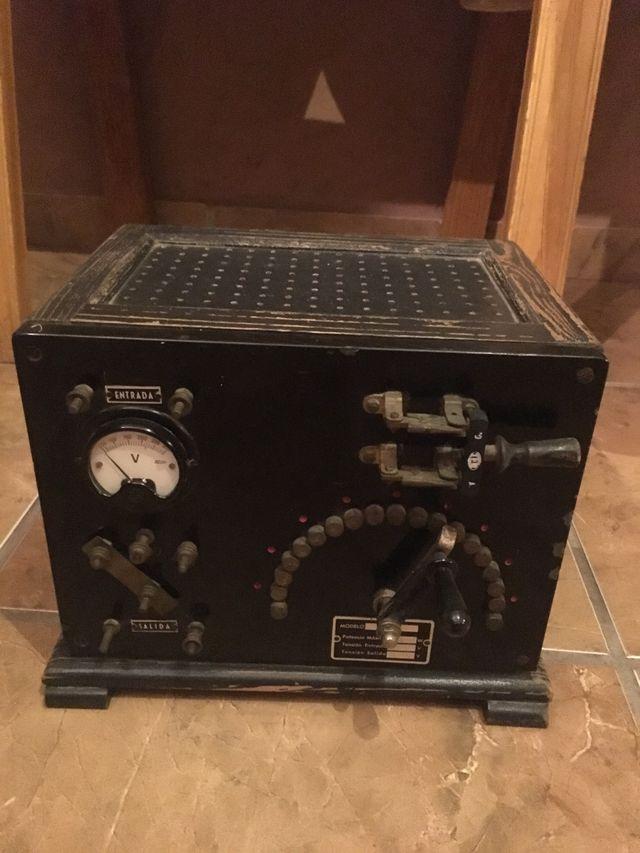 Transformador de radio antiguo