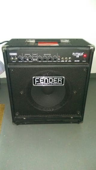 Amplificador de bajo Fender