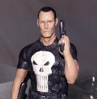 Marvel. Figura de plomo 19 The Punisher