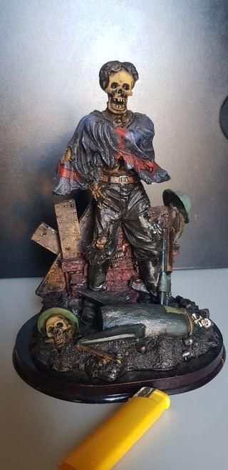 soldado esqueleto resina
