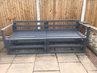 Pallet sofa Outdoor seating