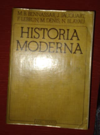 Manual de Historia Moderna