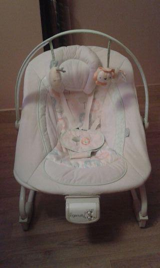 Hamaca Tumbona Ingenuity de bebe