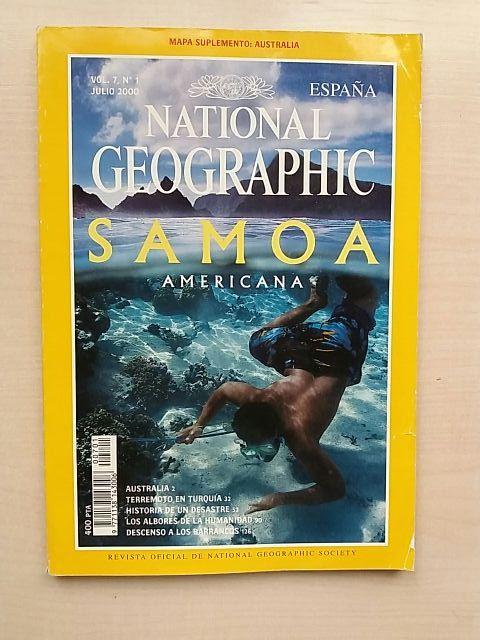 Revista National Geographic Julio 2000