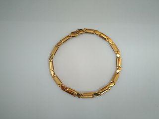f6d7416f3214 Pulsera de oro de segunda mano en la provincia de Castellón en WALLAPOP