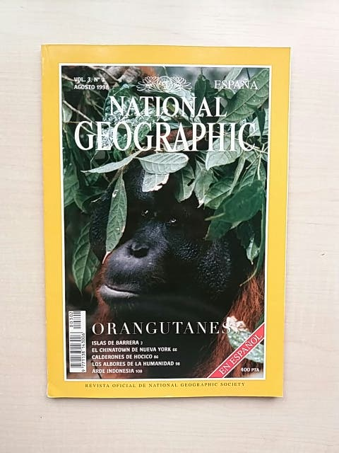 Revista National Geographic Agosto 1998