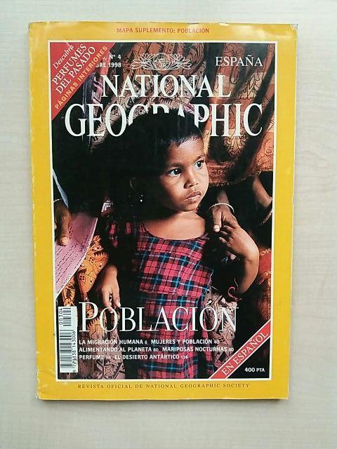 Revista National Geographic Octubre 1998