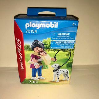 Playmobil mama con bebé y perro