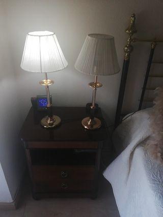 lámparas mesita dormitorio
