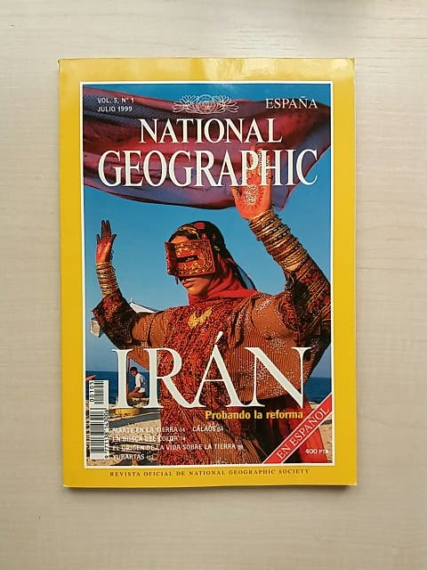 Revista National Geographic Julio 1999