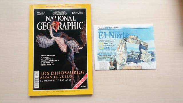 Revista National Geographic Julio 1998.
