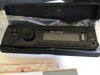 Radio para coche frontal extraíble. Nuevo!