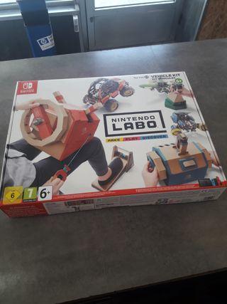 Nintendo Labo Kit-03 de Vehículos para Switch