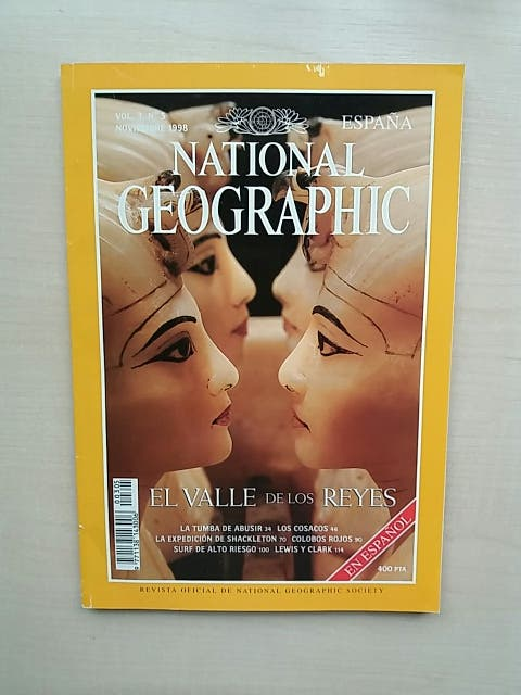 Revista National Geographic Noviembre 1998
