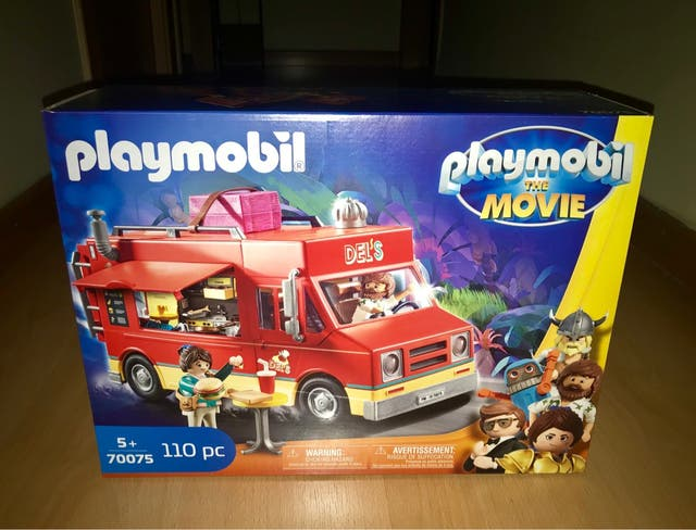 Playmobil foodtruck the movie