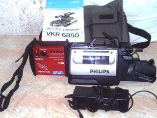 VIDEO CAMARA GRABADORA VHS PHILIPS