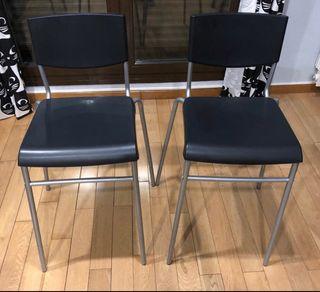 Taburetes sillas altas