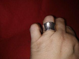 anillo plata diseño una maravilla