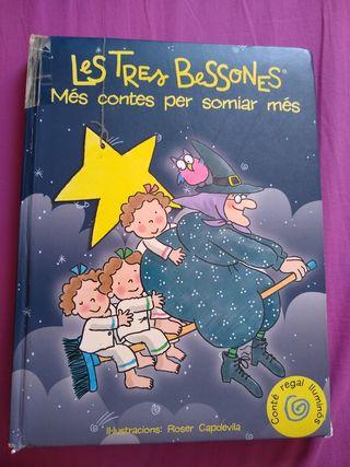 """Llibre """"Les tres bessones. Més contes per somiar """""""
