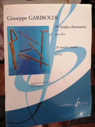 libro flauta travesera Giussepe gariboldi.