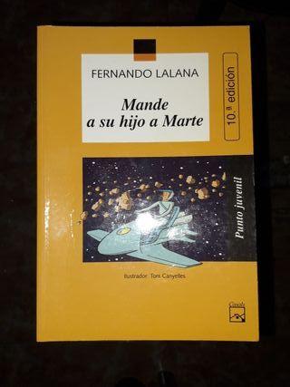 """Libro """"Mande a su hijo a Marte"""""""