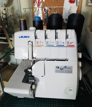 Maquina de coser overlock JUKI 4 hilos