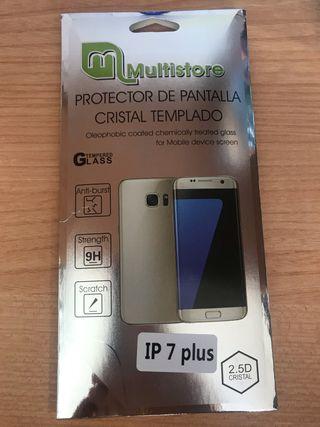 Cristal templado para IPhone 7 Plus