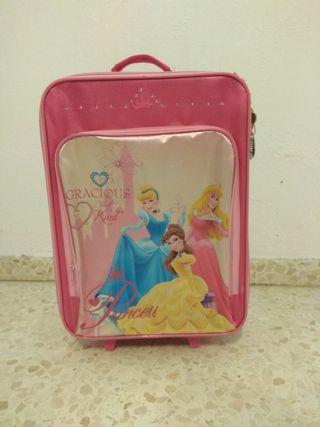 Maleta de viaje para niño/a princesas