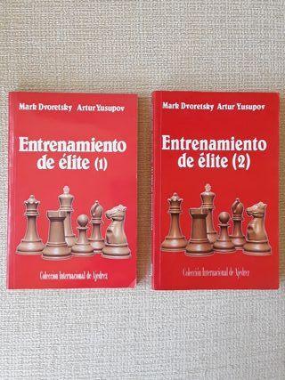 Libros de Ajedrez: Entrenamiento de élite (1) y (2
