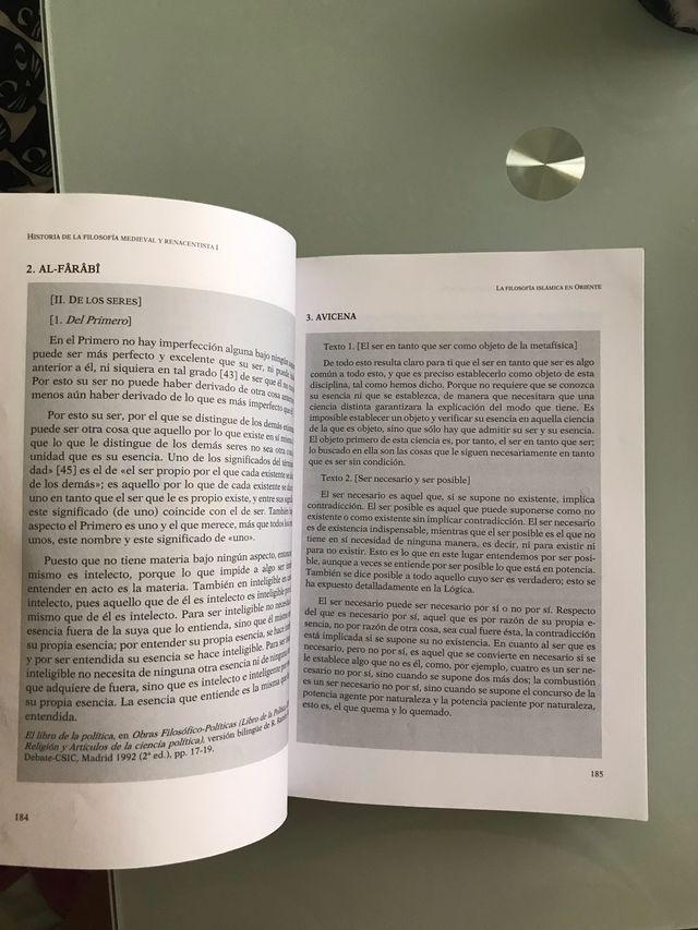 LIBRO HISTORIA DE LA FILOSOFÍA MEDIEV Y RENAC I