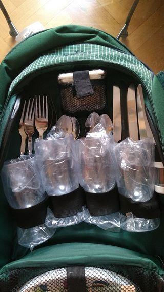 mochila picnic coronel tapioca