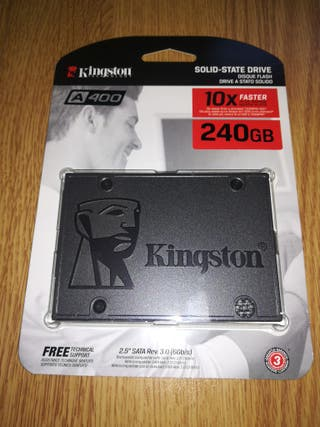 Kingston 240Gb SSD Mod. SA400S37/240G NUEVO