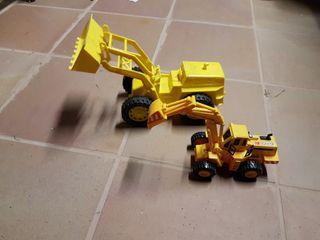 Excavadoras juguete