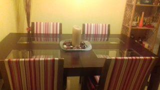 Mesa de comedor rectangular. (Urge su venta)