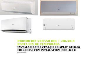 Instaladores de aire acondicionado económico.
