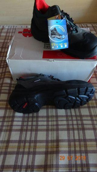 zapatos de seguridad número 43