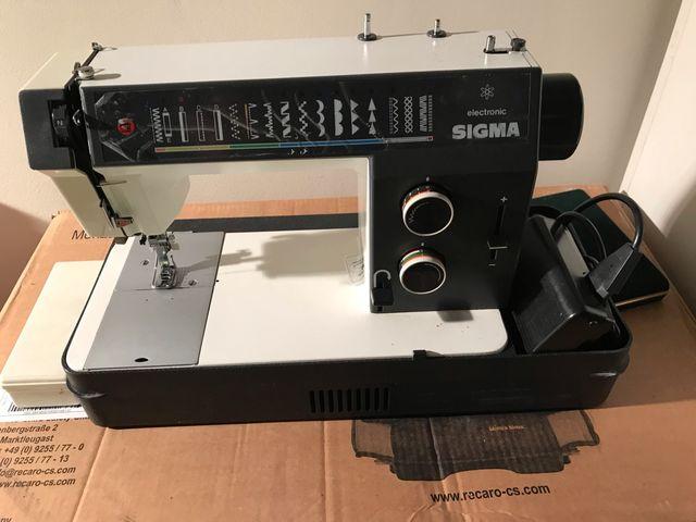 Máquina de coser SIGMA 2002 ELECTRONIC de segunda mano por