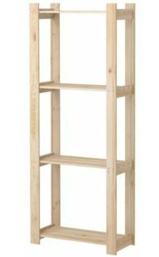 estantería pino Ikea Albert