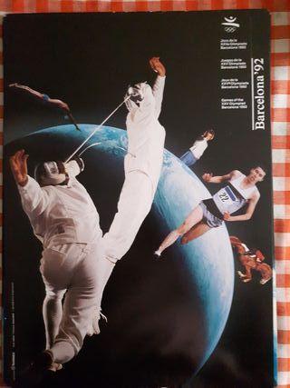 Poster Juegos Olímpicos Barcelona 92
