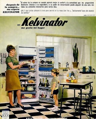 Frigorífico vintage Kelvinator