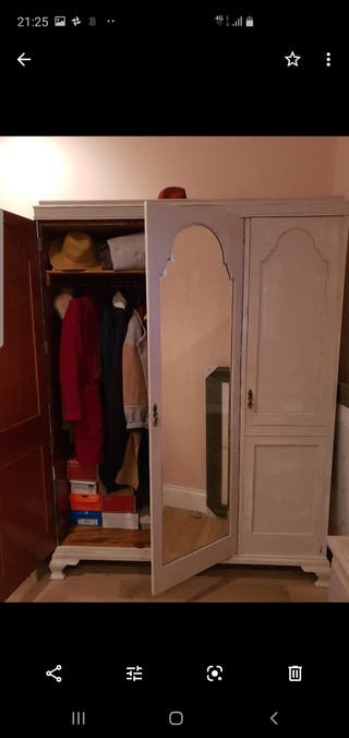 Vintage Chester drawers and wardrobe