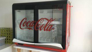 Frigorífico botellero de Coca-Cola