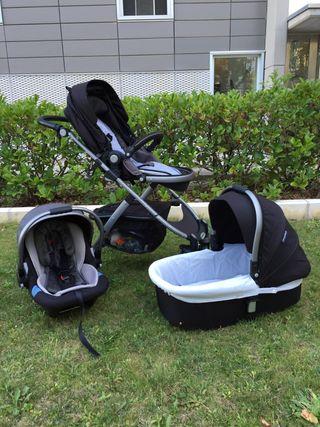 Carro bebe: grupo 0, capazo y silla de paseo