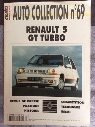 Revista auto colección RENAULT 5GT TURBO .