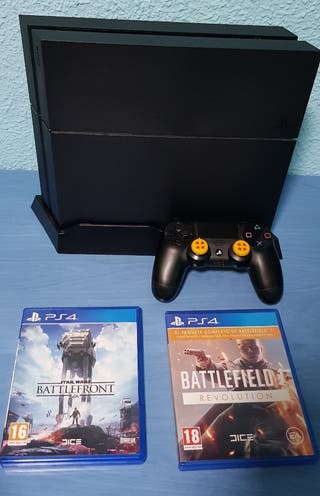 PLAY STATION 4 2TB + Juegos PS4 2 TERABYTES