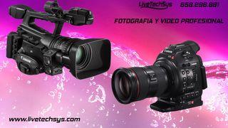 Fotografo y videografo profesional! Fotos FullHD!