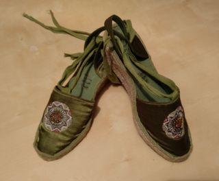 Zapatillas de cáñamo 40