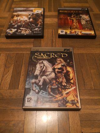 Imperium+Praetorians + Sacred (edición de oro)